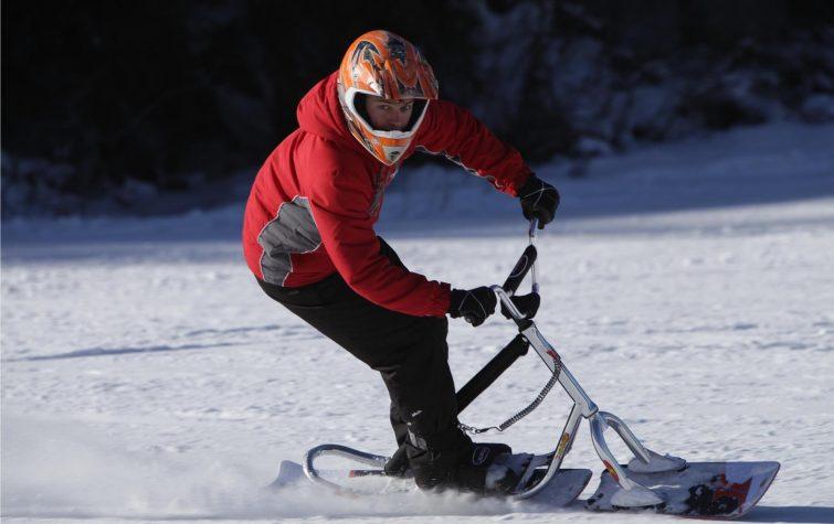 Snowscoot activité outdoor à Chalmazel