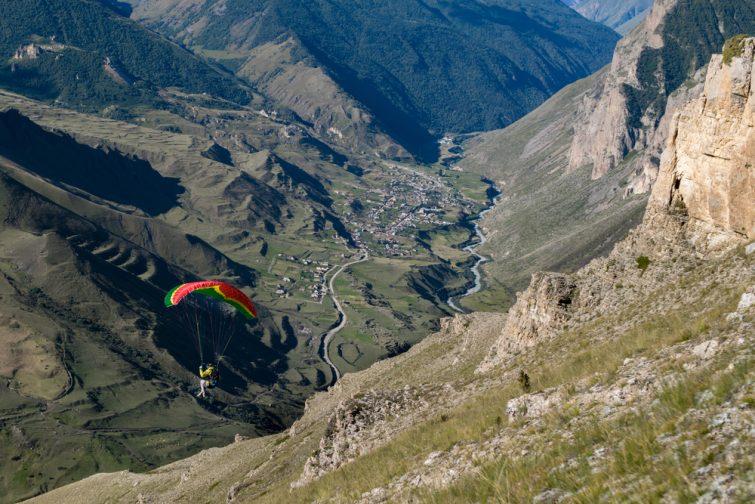Speedflying Andorre