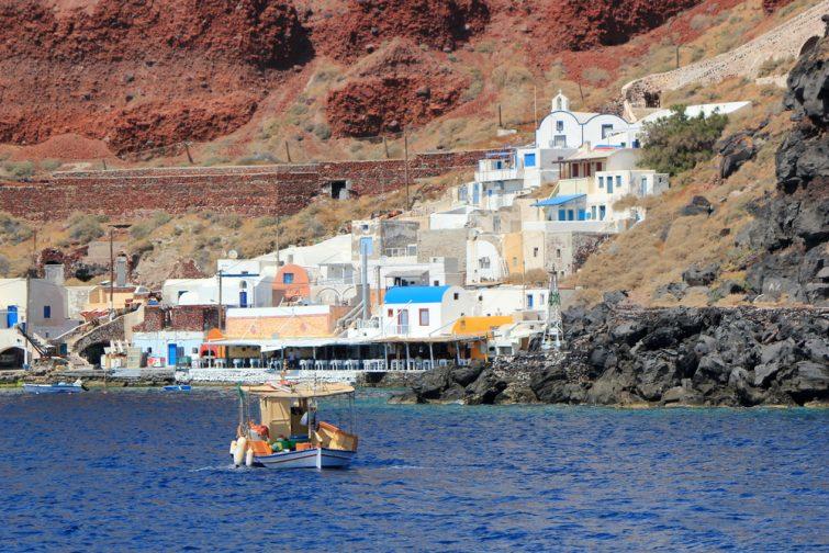 Thirassia croisière autour de Santorin