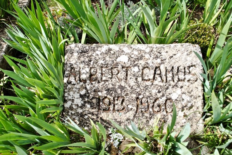 Tombe Albert Camus