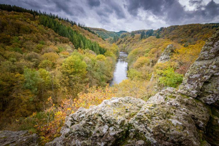 Vallée de l'Ourthe visiter la Province du Luxembourg