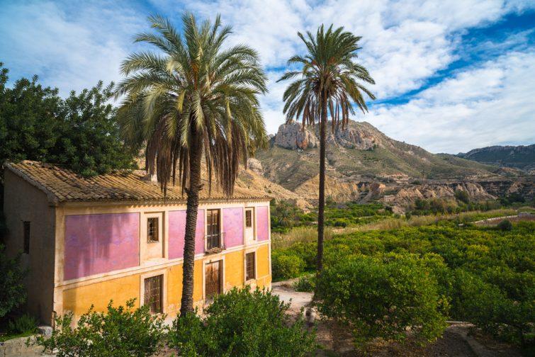 Vallée de la ricote visiter la région Murcie