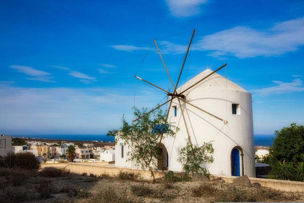 Vothonas villages de Santorin