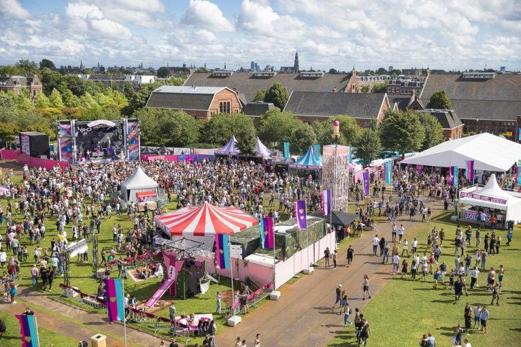 Le Westerpark, durant le Milkshake Festival