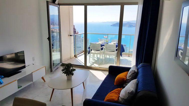 Deux chambres et balcon