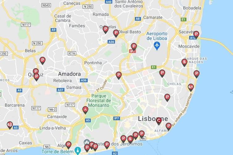 Caramaps Lisbonne