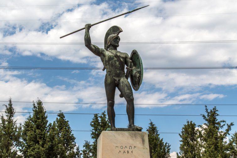 Statue Leonidas