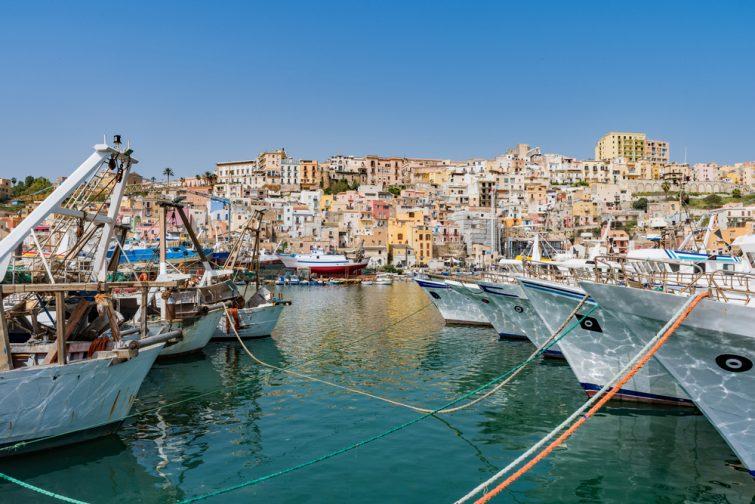 Visiter et louer un bateau à Sciacca