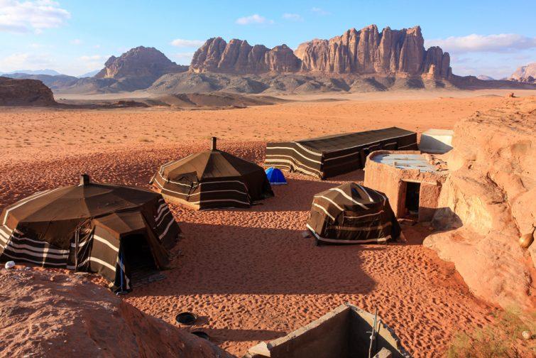 Dormir visiter Wadi Rum