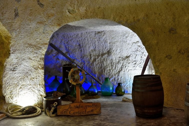 grotte du Caricatore-sciacca