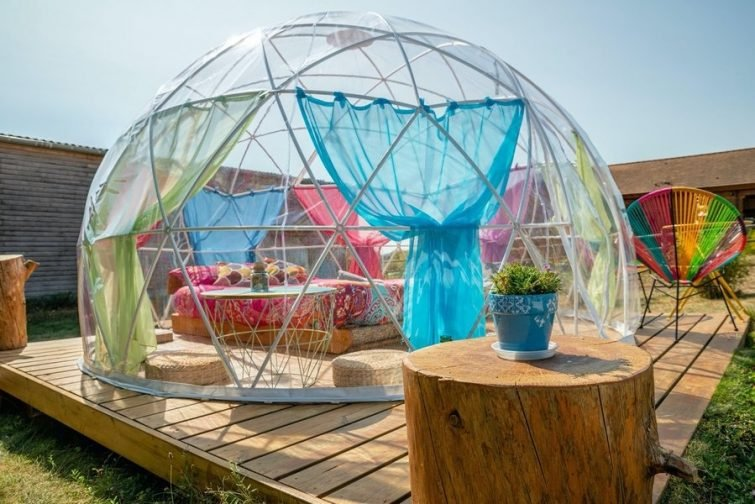 bulle igloo - week-end insolite à Paris