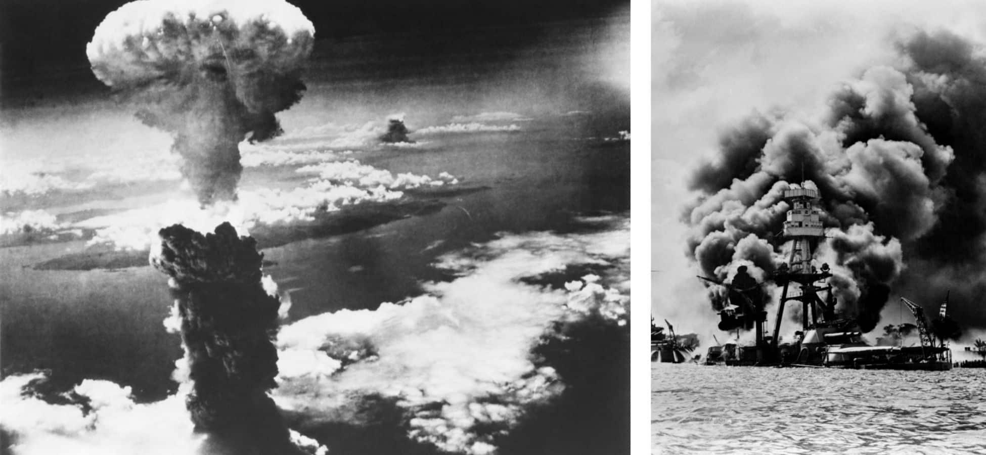 Template Japon Nagasaki et Pearl Harbor