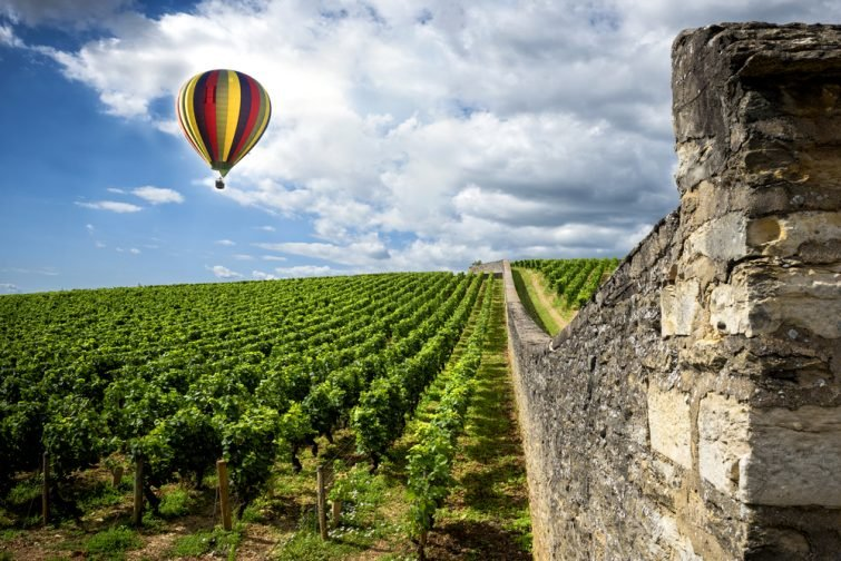 Montgolfière Beaune Week-end insolite en Bourgogne