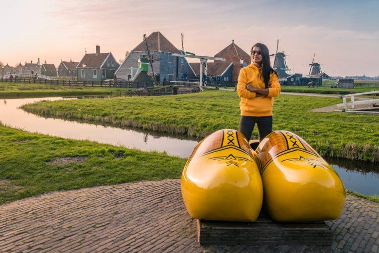 visiter moulins de Zaanse Schans