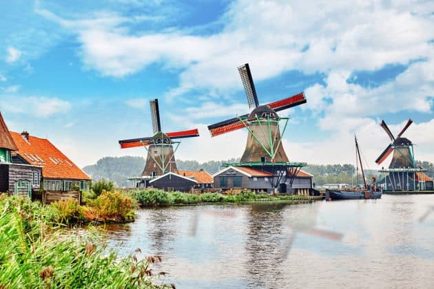Visiter les moulins de Zaanse Schans : guide complet