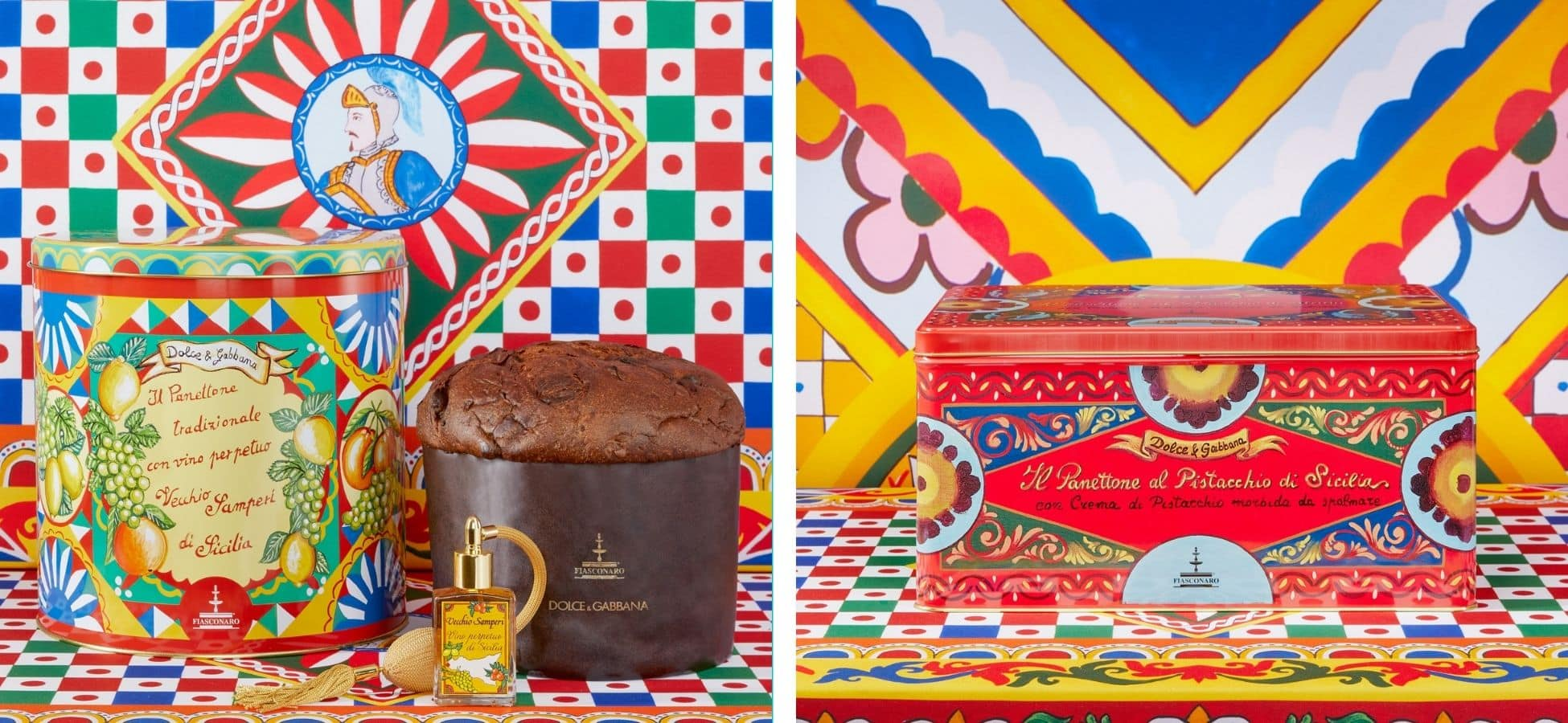 Gamme de panettones Dolce & Gabbana