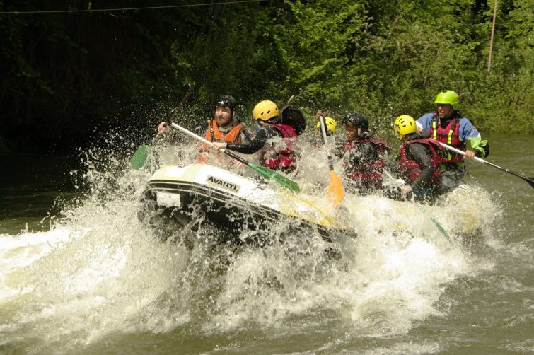 Faire du rafting en Ariège