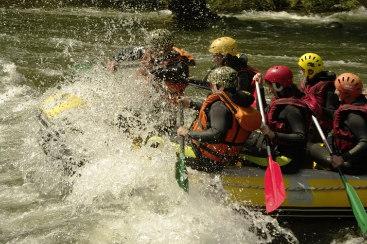 Crédit photo : Facebook - La Belle Verte - Canoë Rafting Ariège