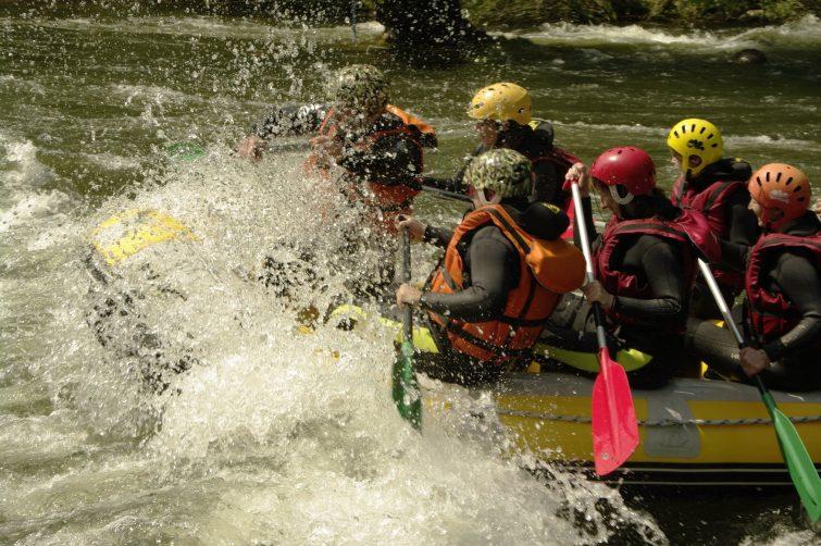 Crédit photo : Facebook - La Belle Verte - Canoë Rafting Ariège