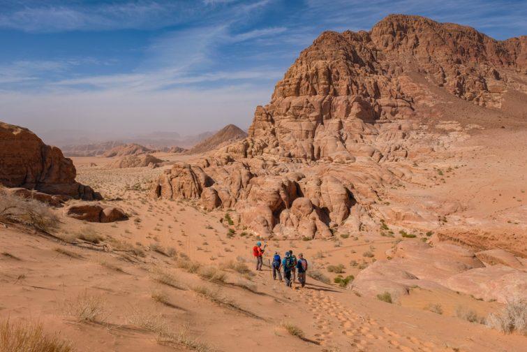 Rando Wadi Rum