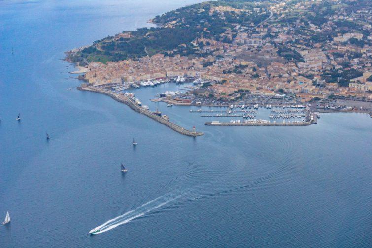Saut en parachute en france Saint-Tropez