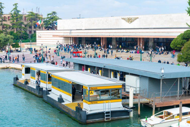 Gare santa lucia, Venise