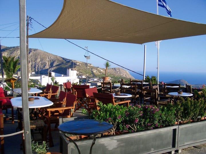 FRANCO'S CAFE - BAR - PYRGOS, SANTORINI, GREECE