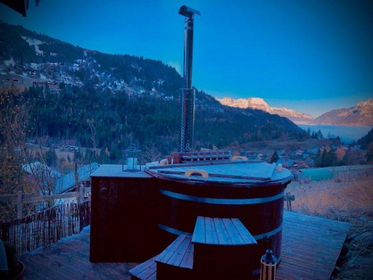 Le Refuge de Marguerite & Spa : Chalet en Haute-Savoie
