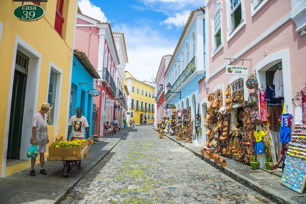 photos brésil - Quartier Pelourinho, Salvador