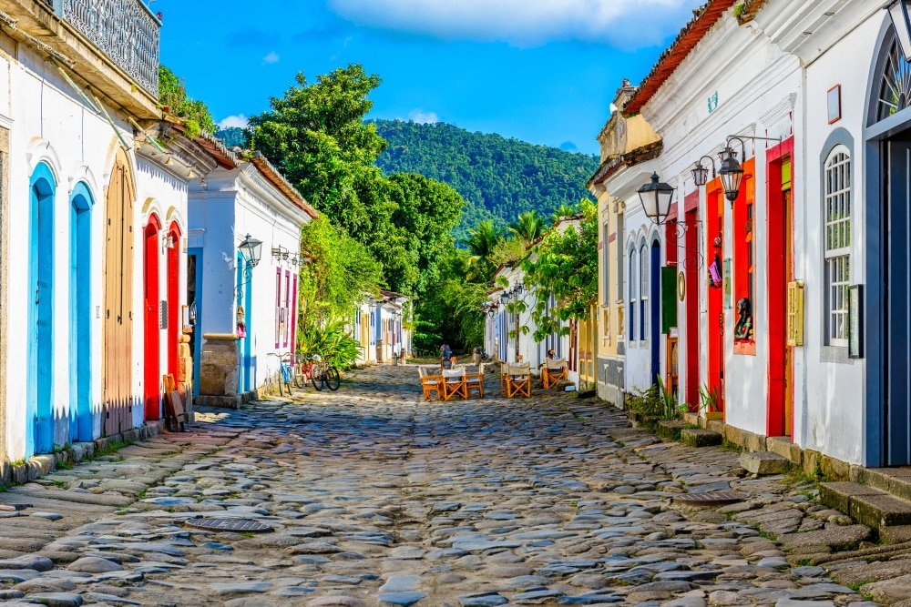 Rues du centre historique de Paraty, Rio de Janeiro
