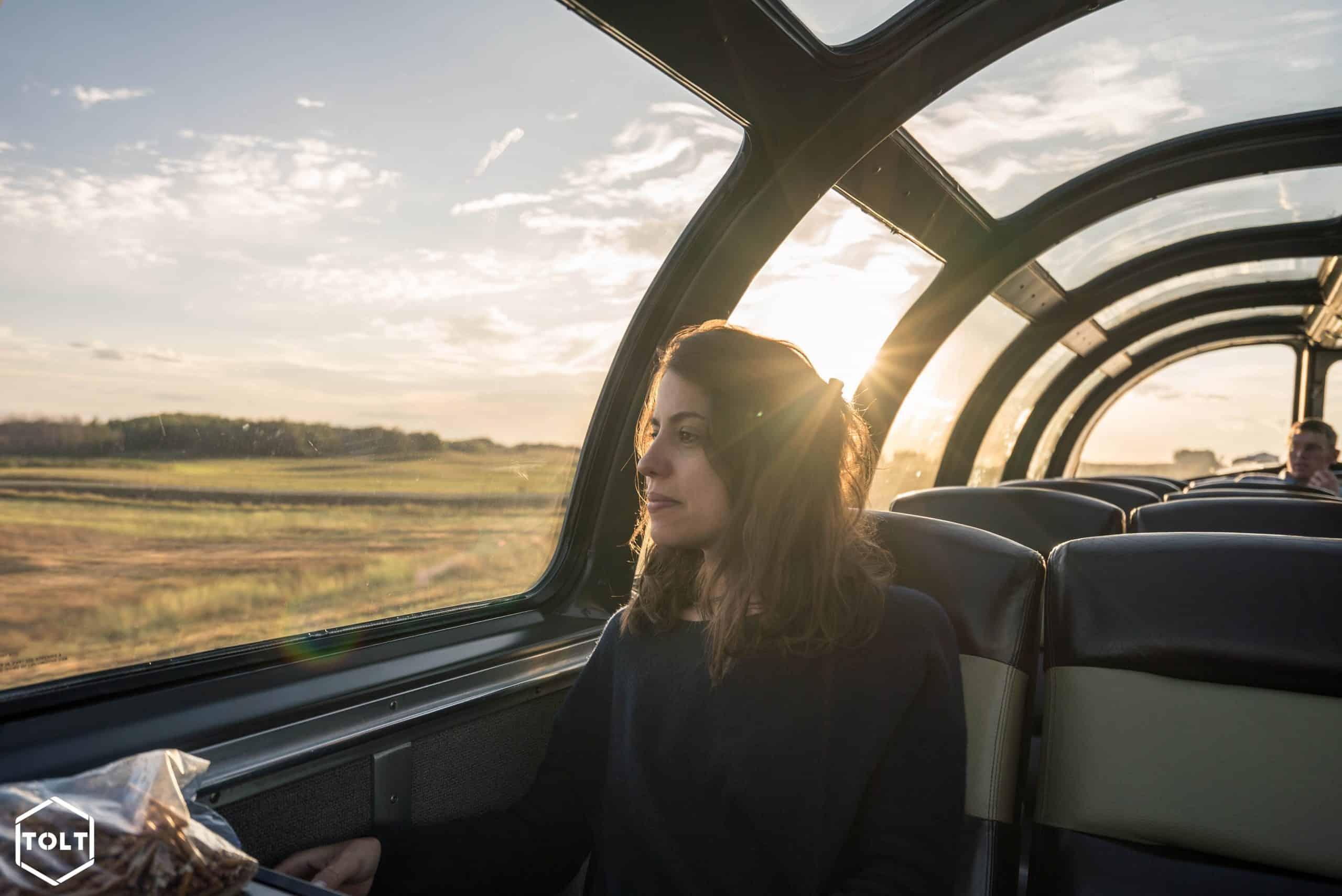 Traversée Canada train Via rail