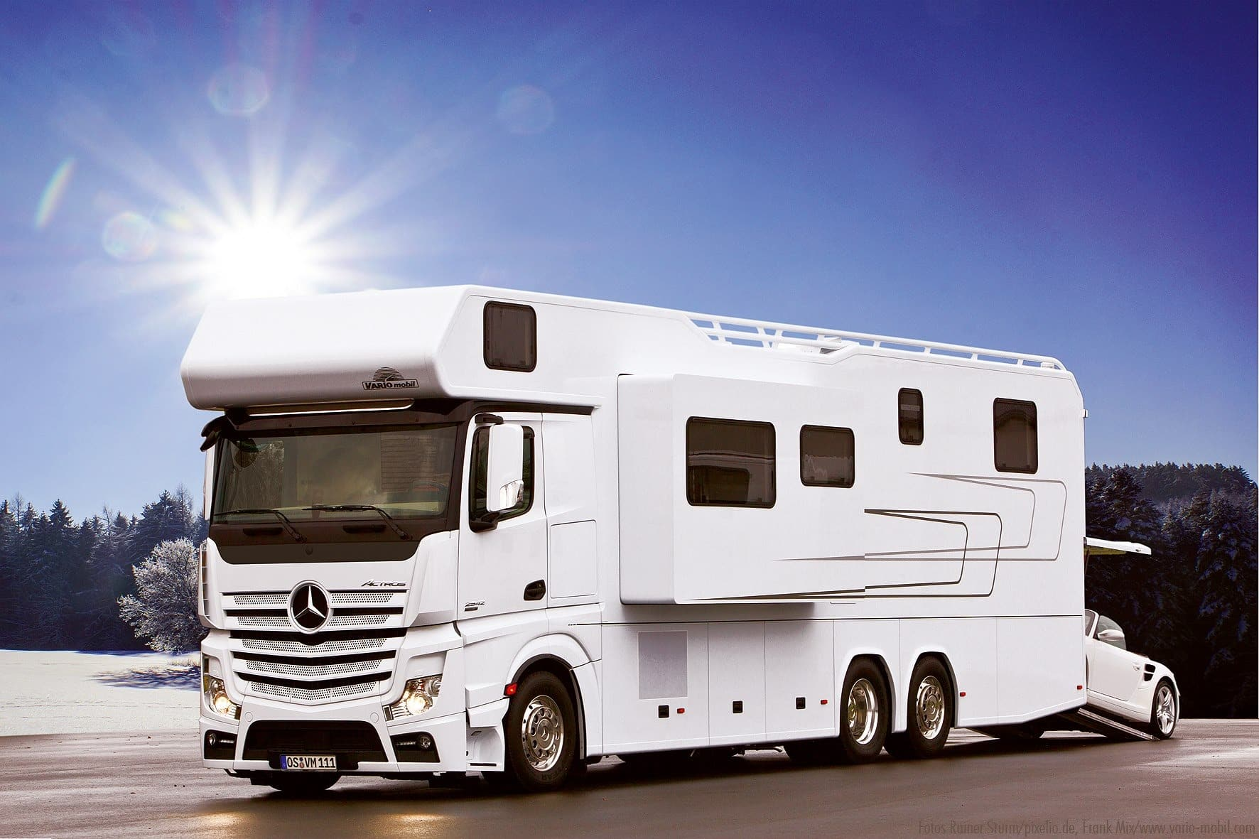 Vario Mobil Vario Alkoven 1200 MB Actross camping-cars luxueux