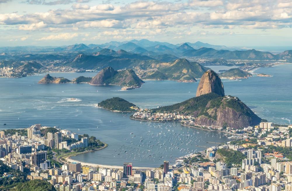 Vue depuis le Corcorado, Rio, Brésil - HandmadePictures