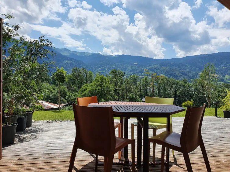 Appartement belle vue et terrasse pour 4 personnes Samoëns