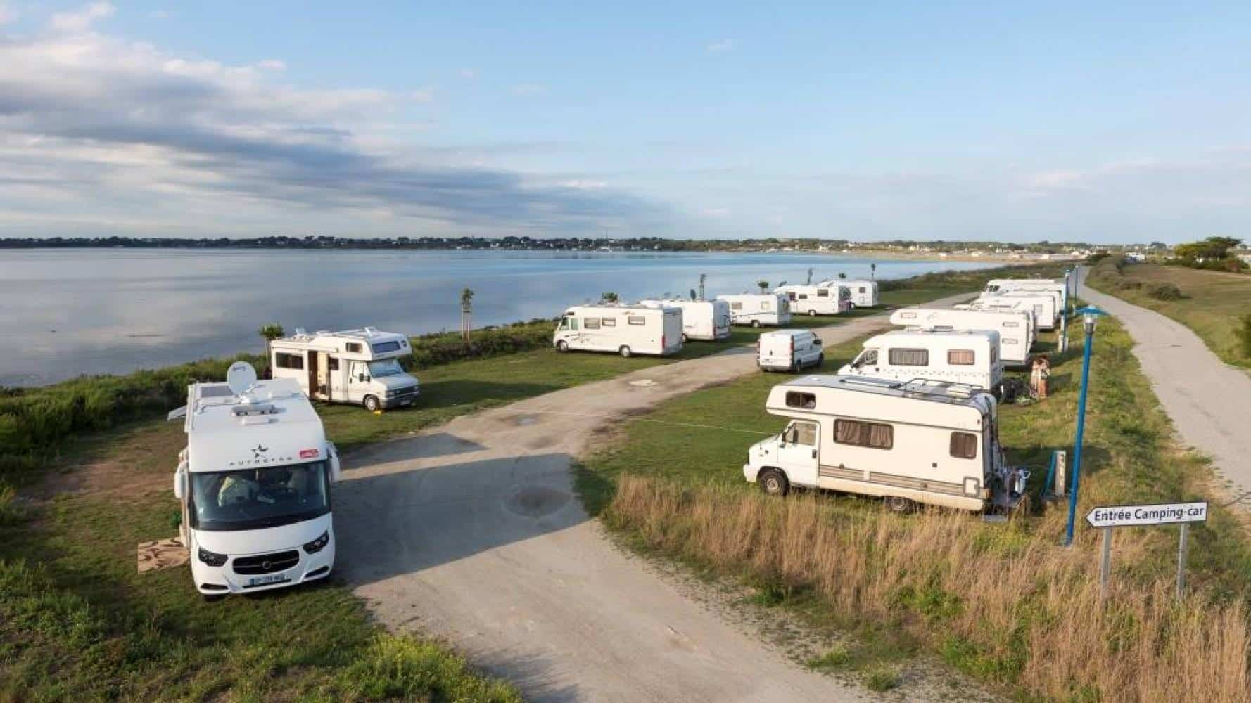 Aire de camping car en France Plouharnel