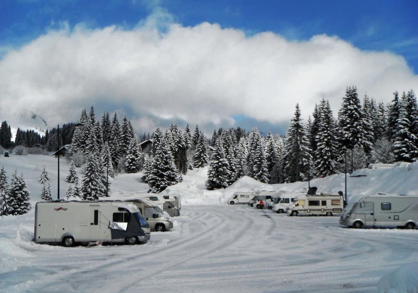 Aire de Taninges Aire en camping-car en France