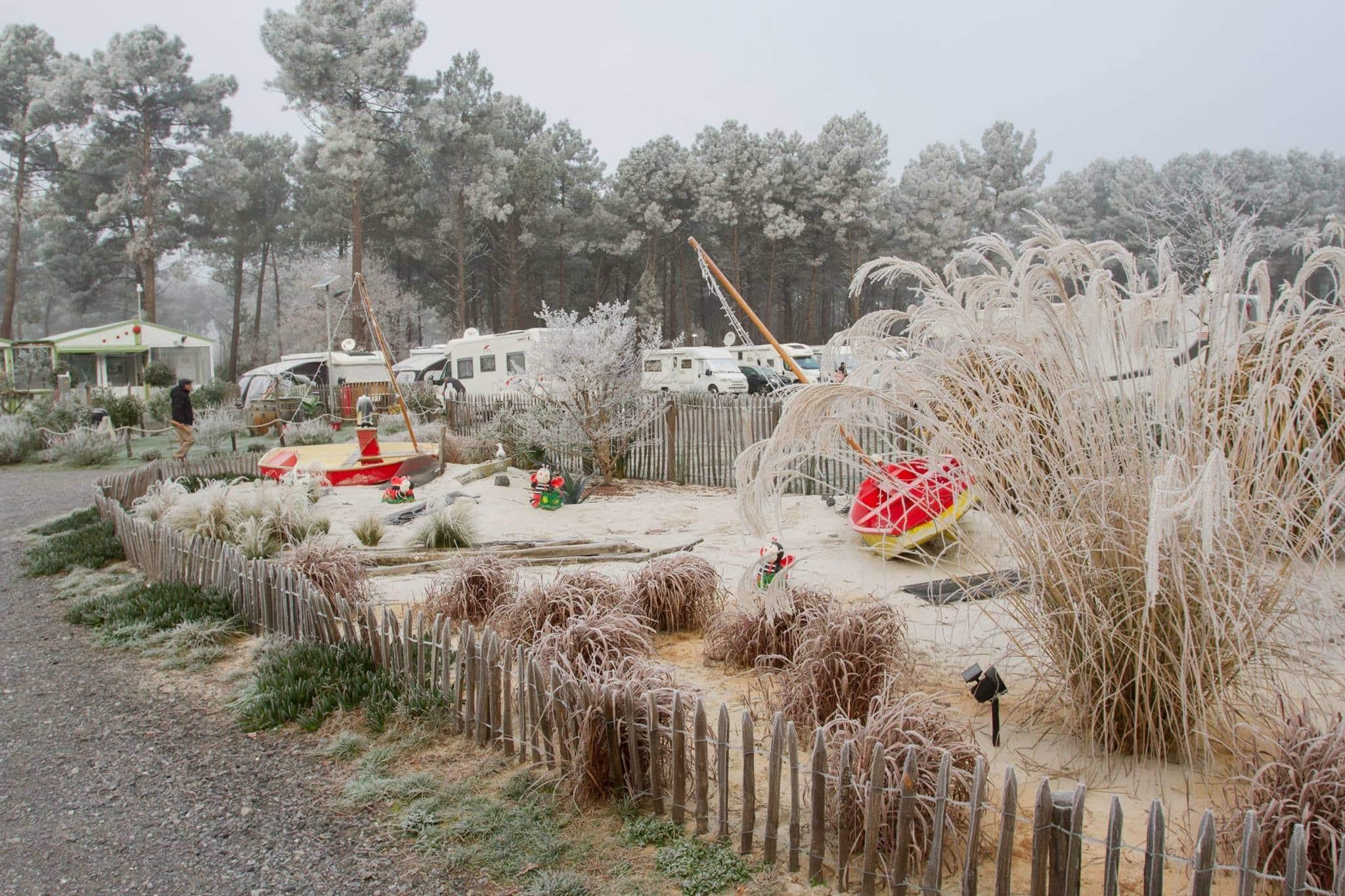 Aire des 3 Coccinelles Aire de camping-car en France