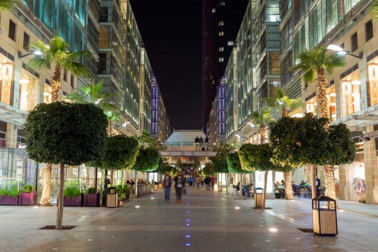 Se rendre au centre commercial de Amman