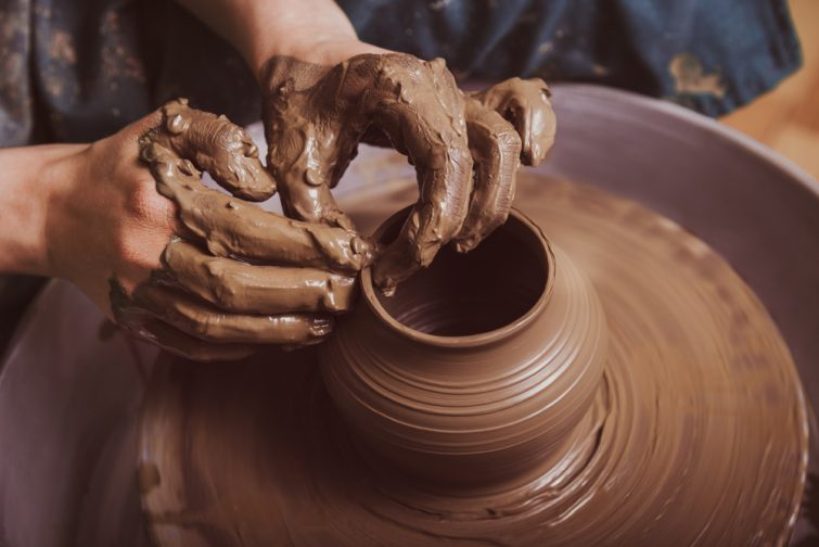 Atelier à Bordeaux poterie