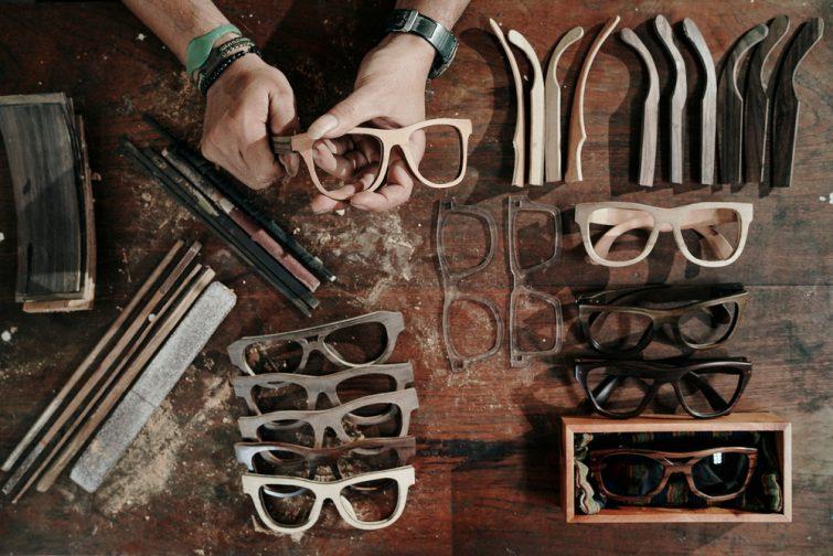 Atelier à Bordeaux créer ses lunettes de soleil