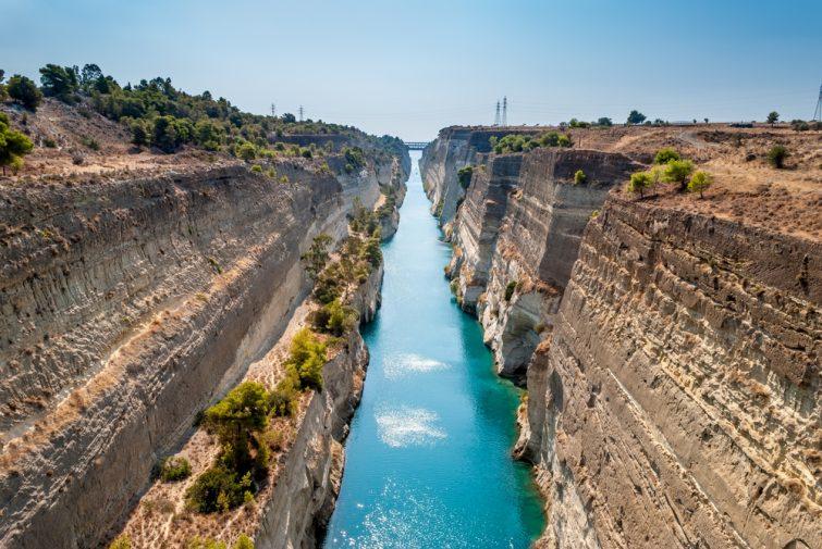 Visiter Corinthe à Athènes