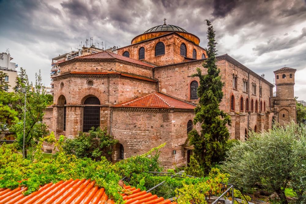 L'église Agia Sofia