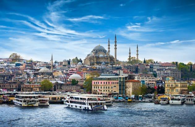 Cartes et plans détaillés d'Istanbul