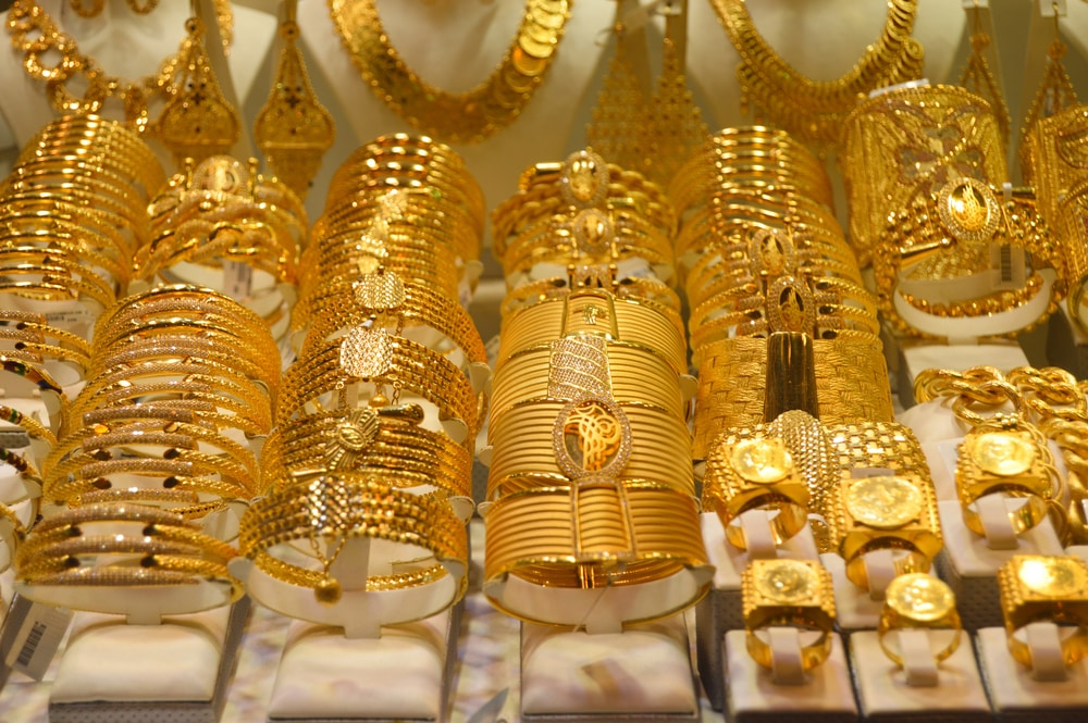 Les bijoux au Grand Bazar