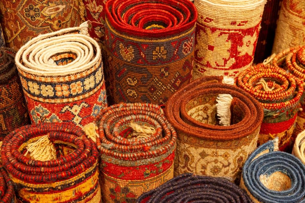 Le quartier des tapis