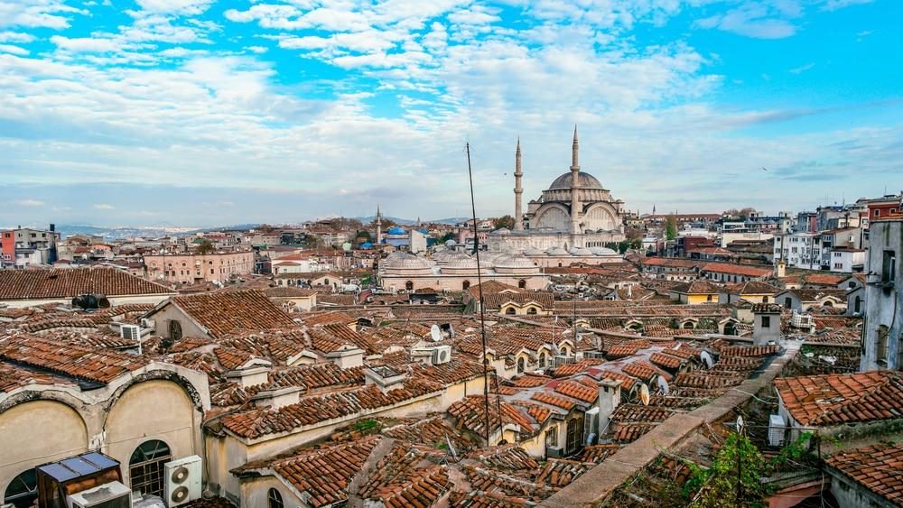 Les toits du Grand Bazar