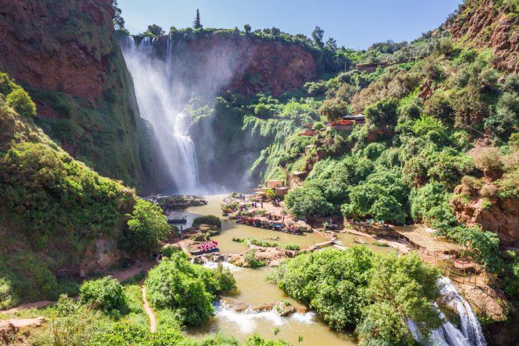 Visiter les cascades d'Ouzoud
