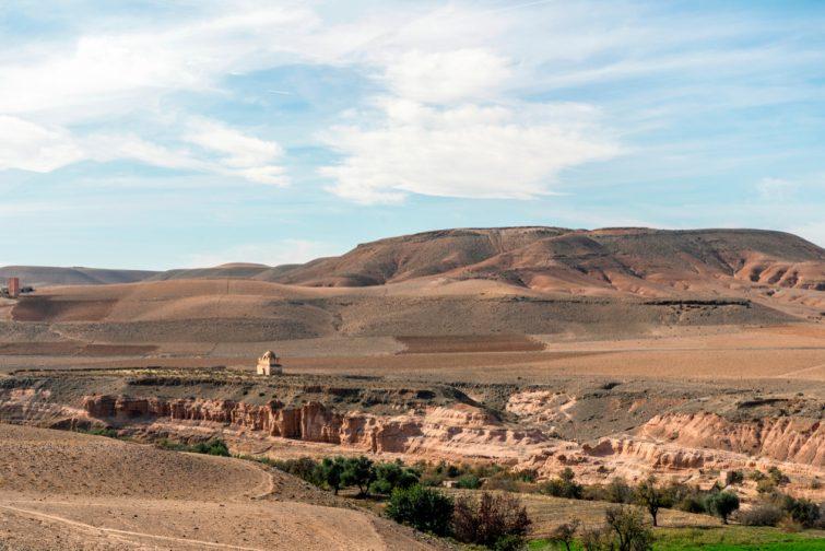 Excursion dans le désert proche de Marrakech