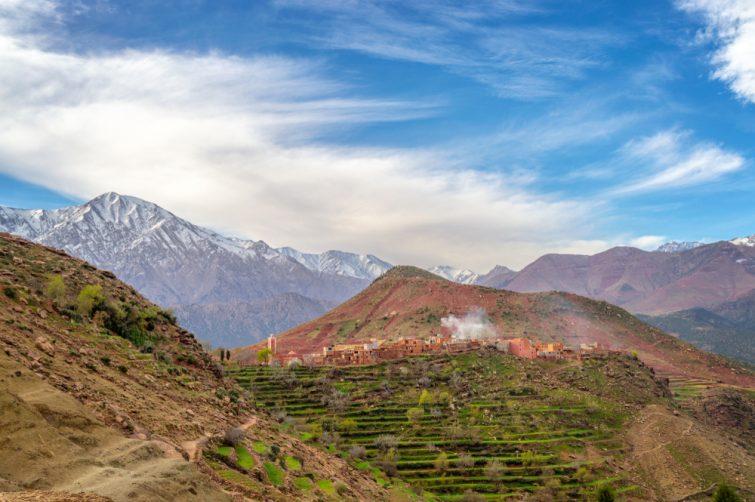 Balade dans les vallées proches de Marrakech
