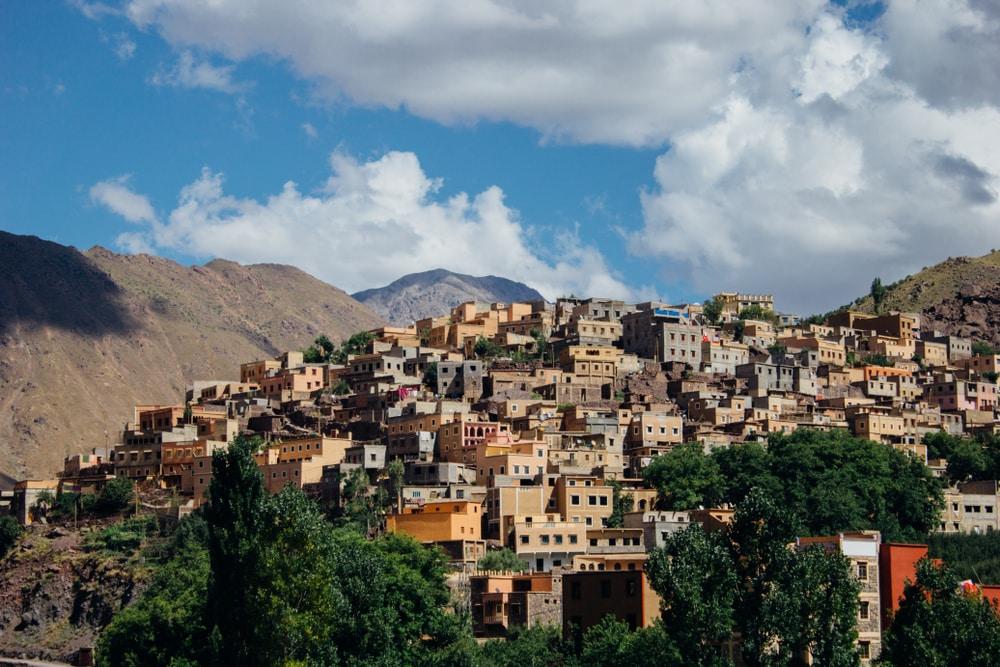 Le village berbère d'Asni